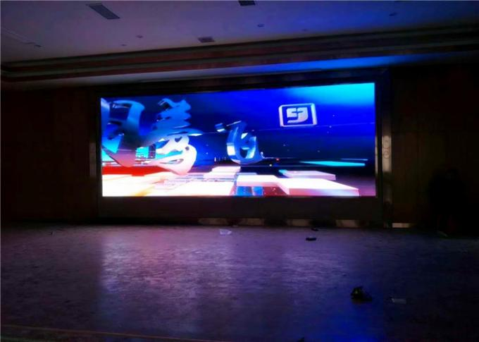Giant Slim Indoor Epistar Interactive LED Video Wall Panels SMD RGB 3 in 1