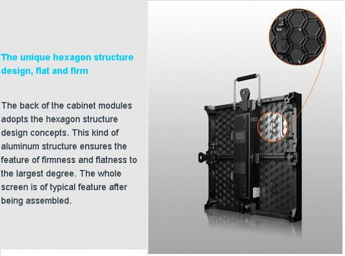 High Brightness Rental LED Display P3.91 P4.81 500 x 500mm LED Video Wall Display