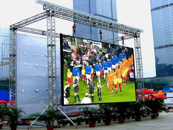 1R1G1B LED Screen Rental LED Display / Led Programming Sign Electronics Outdoor