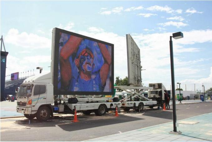 Outdoor Mobile LED Screen Rental Digital Advertising Truck Mounted HD LED Screen