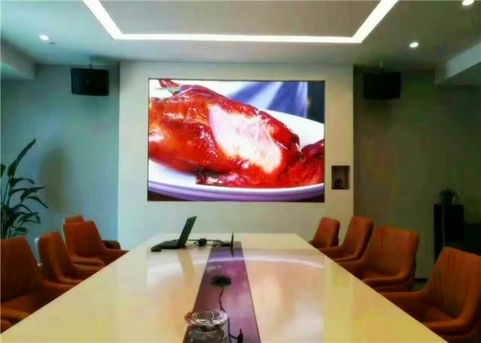 P1.9 SMD RGB LED TV  Full HD Rental Hanging With Die Casting Aluminum Cabinet