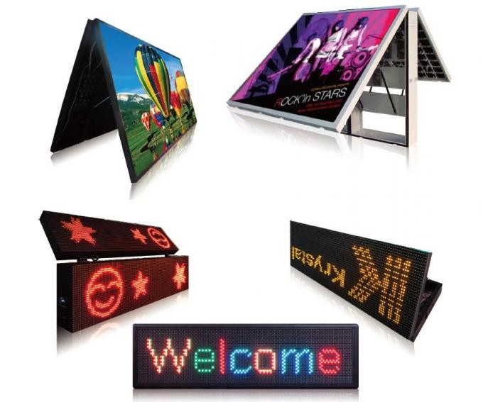 Aluminum Programmable Digital Signage Solution for Coffee / Bus / Shop DIP546