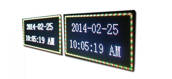Double Sided Programmable LED Display Digital Outdoor Scrolling Waterproof IP65