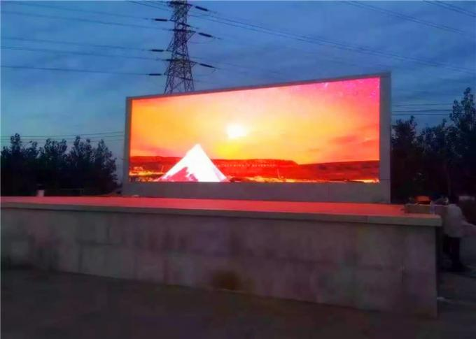 Outdoor SMD P8 Front Service Flexible LED Display Screen With High Brightness