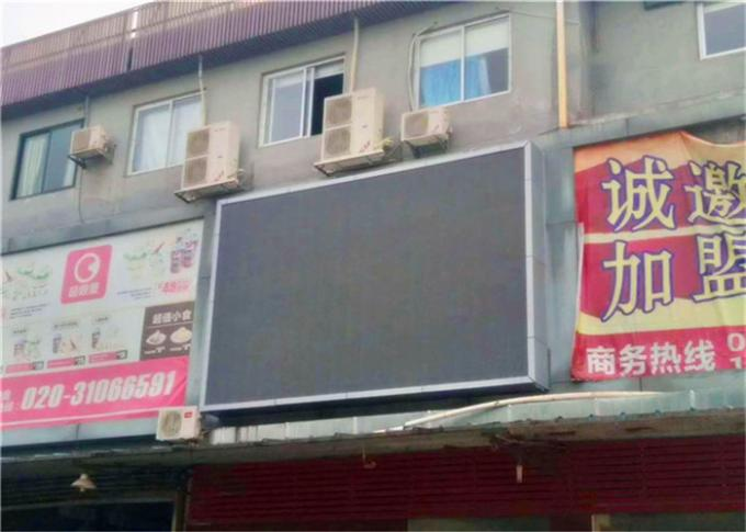 Outdoor Full Color LED Screen Advertising , Double Sided IP67 LED Advertising Sign