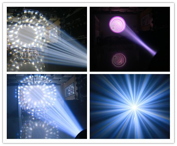 260W 9R 3 In 1 Beam + Wash + Zoom Moving Head Dj Lights With 16 Standard DMX 512 Channels