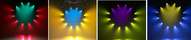 2 Prisms 260W Beam Spot Wash 3in1 Moving Head Stage Lighting