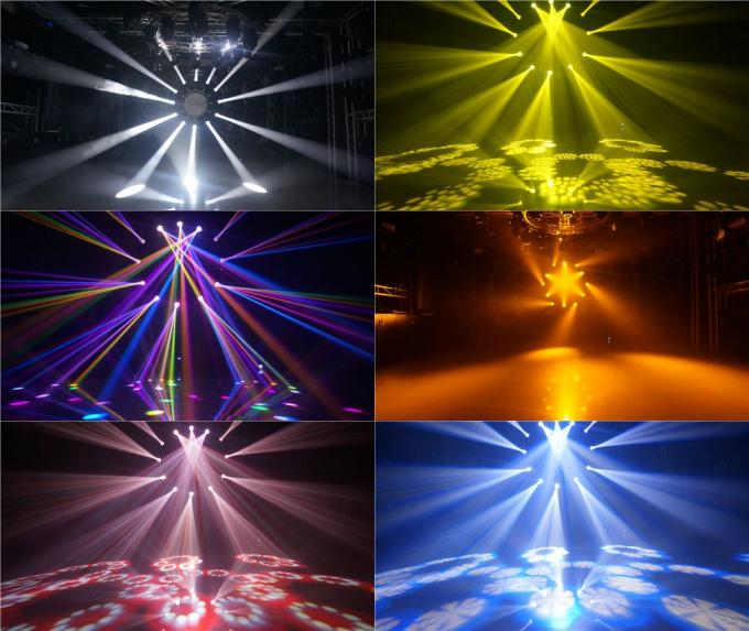 150Watt Moving Head Stage Lights For Club / Two Color Wheel Beam Led Wash Light