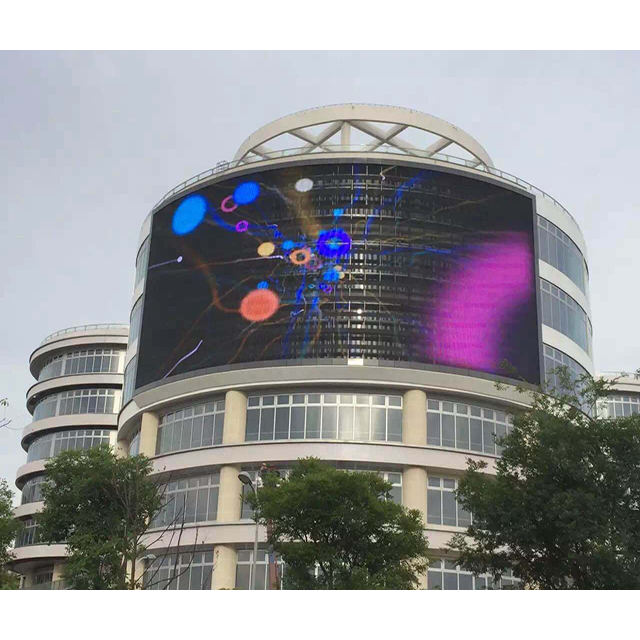 CP15-31D LED Grille Screen , Outdoor Led Advertising Screens 120/120° View Angle