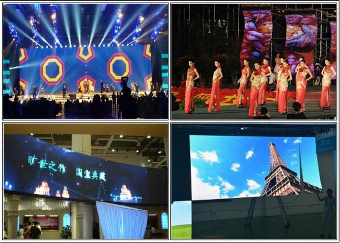 Light Weight Led Video Curtain Rental 12.5 Pixel Pitch SMD3528 Gray Scale 65536