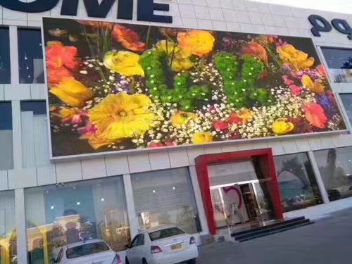 Spanish project picture-P6 outdoor HD fullcolor LED Display