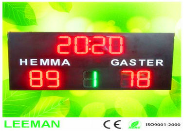 China Football Stadium LED Screens Digital Number LED Soccer Substitution Board 2 Color 2 Side supplier