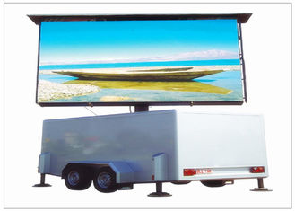 China Outdoor Mobile LED Screen Rental Digital Advertising Truck Mounted HD LED Screen supplier