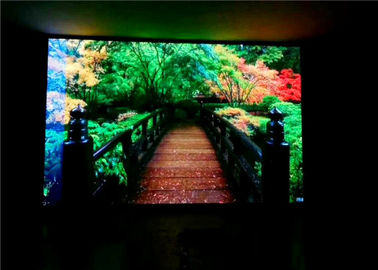 China Small Pixel Pitch Full Color HD LED TV , Adversiting Multi Color LED Full HD TV supplier