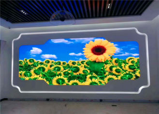 China Indoor Full HD LED TV P2.5 SMD 2121 RGB LED TV Display With Llight Weight Aluminum Alloy supplier