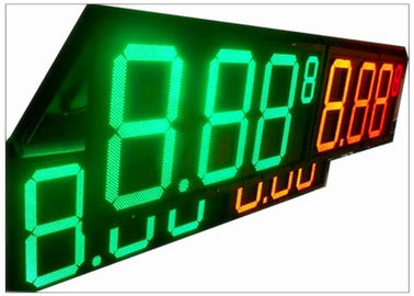 China 5 Inch - 48 Inch IP68 Gas Station LED Signs , Weatherproof Electronic LED Display Boards supplier
