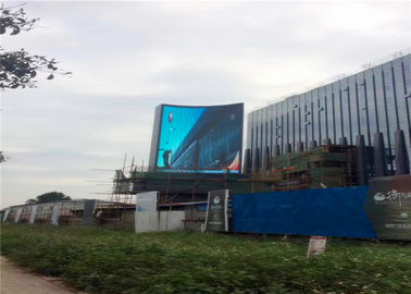Waterproof IP65 6mm LED Advertising Screen , Outdoor Led Billboards Rental P6 SMD