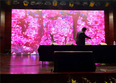 Advertising Digital LED Video Wall Panels Definition P2.5 Curtain LED Screen