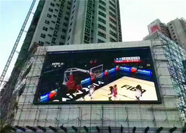 China Advertising Outdoor LED Screens Full Color Video Billboard P5 Waterproof IP65 Module supplier