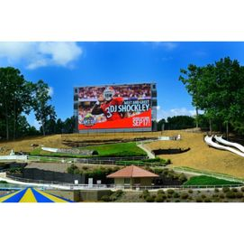 P10 Outdoor Rental LED Display High Resolution Video Wall Wide Viewing Angle