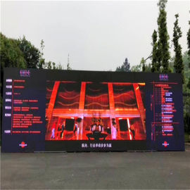 1R1G1B Full Color Led Display Screen , P10 Flexible Large Led Display Board