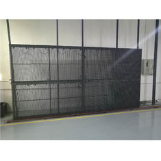 Aluminum Cabinet Large Led Screen Curtain , Led Panel Screen Evironment Protection