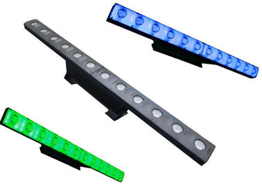 China Light Weight Waterproof LED Light Bar , 3W LED Disco Lights With Beam Effect supplier