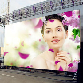 Full Color HD Advertising Led Display Outdoor Pixel 6mm Billboard 1/8 Scan