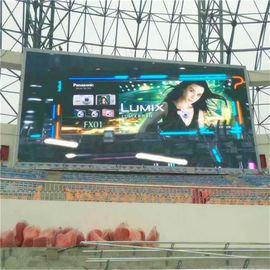 IP68 Outdoor LED Advertising Screens , P10 Full Color LED Screen High Brightness