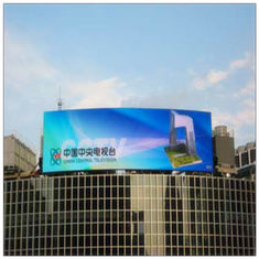 China DIP P10 IP65 Energy Saving LED Display 10000/m² Pixel Density For Advertising supplier