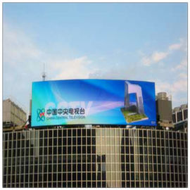 DIP P10 IP65 Energy Saving LED Display 10000/m² Pixel Density For Advertising