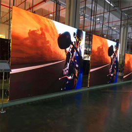 P8 Outdoor Digital Signage Displays Simple Structure Humanized Operating Interface
