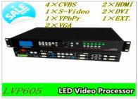 LED Video Module / RGB LED Modules With 4 Ethernet Ports , HDMI / DVI Video Interface