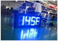 Custom Size Large Outdoor LED Price Signs For Gas Stations With 4 And 5 Digit Formats