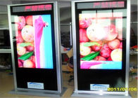 Floor Standing Kiosk LED Advertising Display , LED Digital Signage 42 Inch 70 Inch 82 Inch