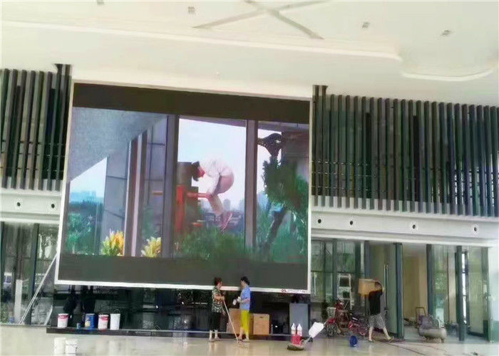 Commercial Outdoor Full Color Led Screen Video Wall With Nicha Epistar Cree Chip