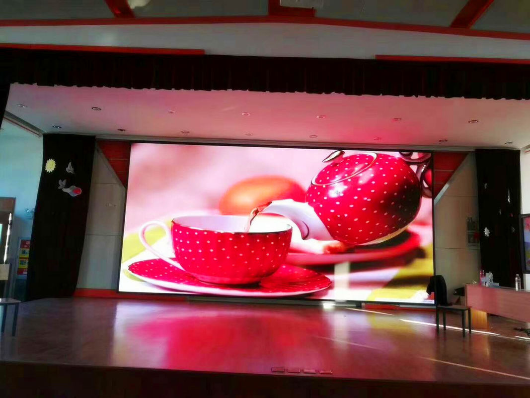 SMD2121 RGB LED Stage Screen Rental 500 X 1000mm Ultra Light LED Advertising Board P5 P6