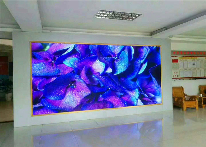 1/16 Scan P4 Rental LED Display Advertising Indoor With Die Cast Aluminum Cabinet