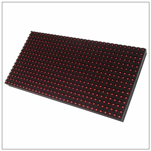 Single / Mono Color LED Display Module , 320mm * 160mm 1R Pixel IP65 LED Panel Module