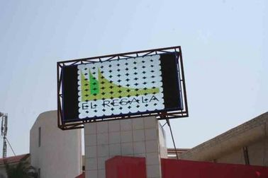 China P6 / P10 / P20 3528 SMD LED Video Wall Panels , Outdoor Large Screen Display Solutions factory