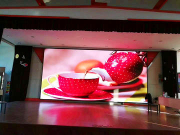 China SMD2121 RGB LED Stage Screen Rental 500 X 1000mm Ultra Light LED Advertising Board P5 P6 factory