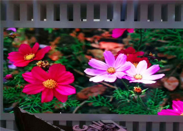 China Waterproof IP67 / IP65 P12.8mm 1R1G1B Outdoor LED Video Display Screen With 12bit factory