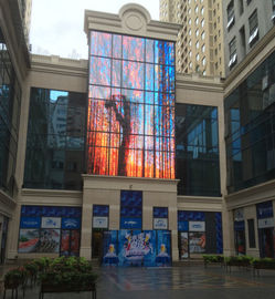 China CP15-31D LED Grille Screen , Outdoor Led Advertising Screens 120/120° View Angle factory