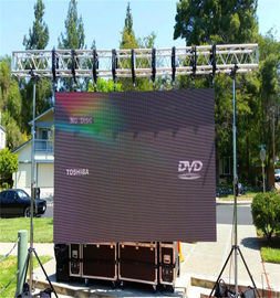 China Full Color Outdoor Led Screen Rental , Led Stage Screen Rental Slim Aluminium Panel factory